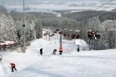 Горнолыжный курорт Силичи в Беларуси